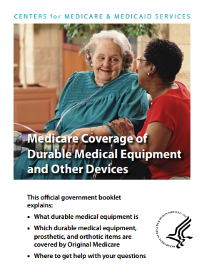 Medicare Coverage of durable medical equipment