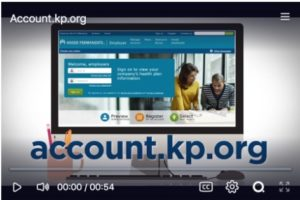 kaiser online portal website tour