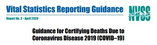 cdc guidance for reporting covid deaths