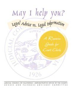 Advise vs information
