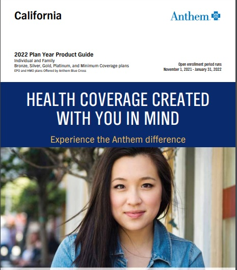 Anthem Blue Cross Product Guide